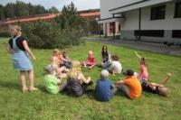Toiminnallisen kielileirin maanantai (ruotsi 1)