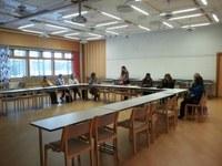 Postgraduate group bootcamp in Vesala camp center