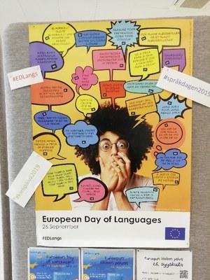 Euroopan kielten päivän juliste