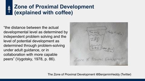 ARVO-koulutus zone of proximal development