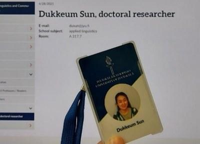 My Best Souvenir from Finnish Academia