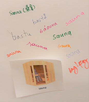 synonyymeja sanalle sauna