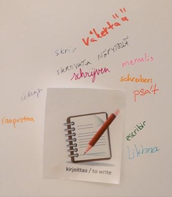 synonyymeja sanalle kirjoittaa